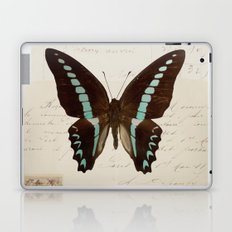 blue spotted butterfly Laptop & iPad Skin