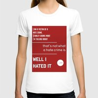 michael scott T-shirts featuring Michael Scott on Hate Crimes (The Office) by thebuccanear