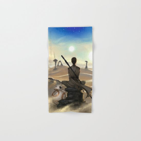 StarWars - Rey Hand & Bath Towel