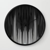 tie dye Wall Clocks featuring dye by a.r.r.p.