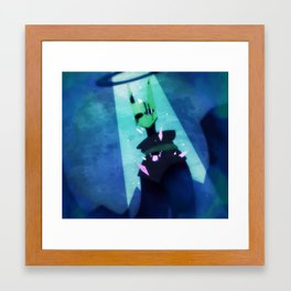 It Must Be So Lonely Framed Art Print