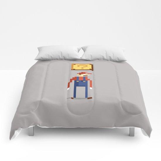 Pixel Plumber Comforters