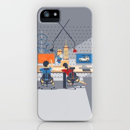 Home Workstation iPhone Case