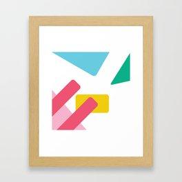 Wild Card Framed Art Print