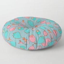 Strawberry Pattern | Vintage Floor Pillow