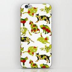 Kitchen Cats iPhone Skin