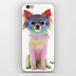 Colorful Chihuahua iPhone Skin
