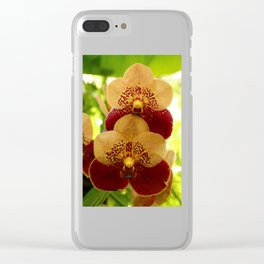 Joy And Happyness Clear iPhone Case