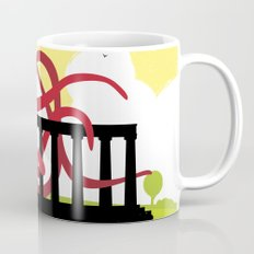 Giant Squid Attacks Edinburgh's Acropolis Mug