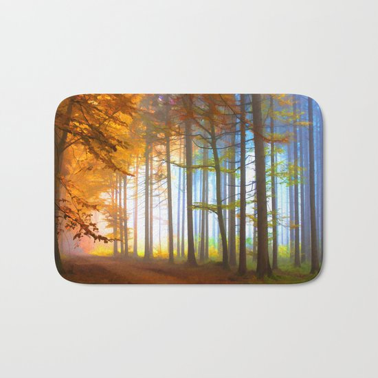 Ethereal Forest  Bath Mat