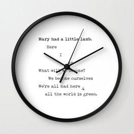 Dianna Agron #1 Wall Clock