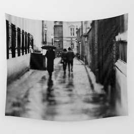 in black and white ...  Wall Tapestry