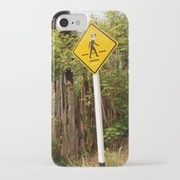 animal crossing iPhone & iPod Cases featuring Crossing by TheStaticTraveler