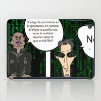 matrix iPad Cases featuring Matrix by flydesign