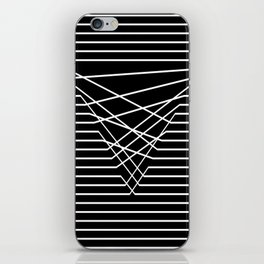 Line Complex Dark Triangle iPhone Skin