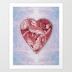 Full Heart Art Print