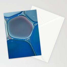 Blue Oil Stationery Cards