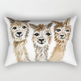 Hello There Alpacas Rectangular Pillow