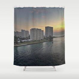 Dawning Day Shower Curtain