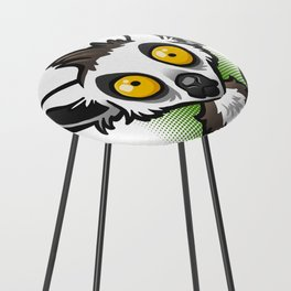 Ring-Tailed Lemur Counter Stool