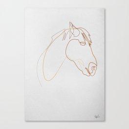 Horse 313  Canvas Print