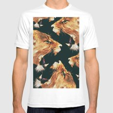 Roaring Lion Mens Fitted Tee MEDIUM White