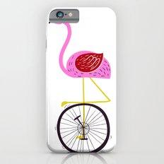 flamingo unicycler iPhone 6s Slim Case