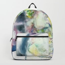 POPE FRANCIS - watercolor portrait.3 Backpack