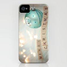 Merry Christmas Slim Case iPhone (4, 4s)
