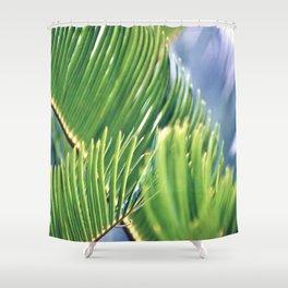 Tropical Texture Shower Curtain