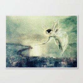 Spirit of the Night by John Atkinson Grimshaw Canvas Print