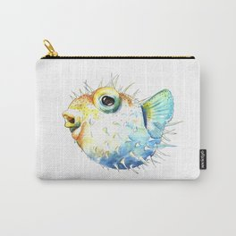 Pufferfish - Puffed up Carry-All Pouch