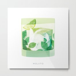 Cocktail Hour: Mojito Metal Print