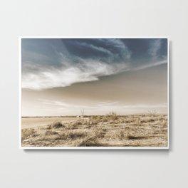 whites sands beachscape Metal Print