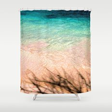 SEA AND TREE Shower Curtain