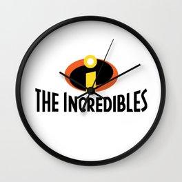 The Incredible Logo Wall Clock