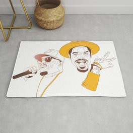 Andre 3000 and Big Boi Rug