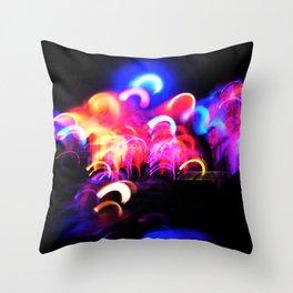 Stage Lights Leak 2 Throw Pillow