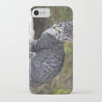 hiking iPhone & iPod Cases featuring Hiking Friend by Jeffrey Filman
