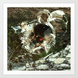 FOREST BURIAL Art Print