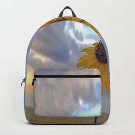 Roadside Sunflower Backpack