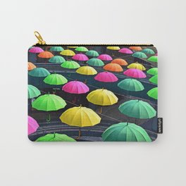 Umbrella Series - Looking Down Carry-All Pouch