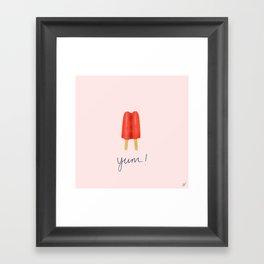 Yum! Framed Art Print