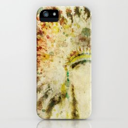 Native American Boho Headdress iPhone Case