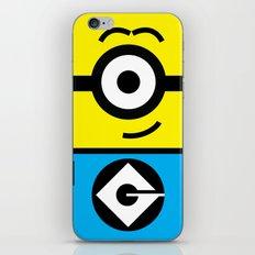 Minion Yellow iPhone & iPod Skin