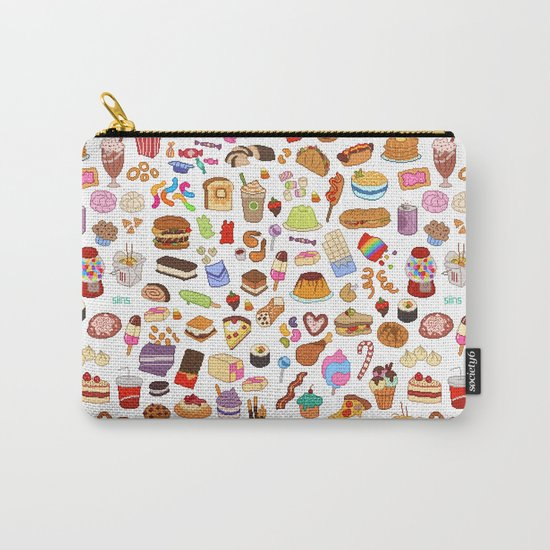Cute food Carry-All Pouch