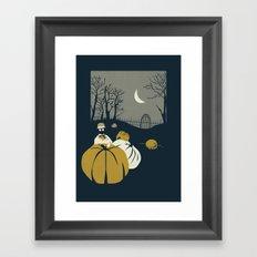 Urban Fae — Pumpkin Patch Framed Art Print