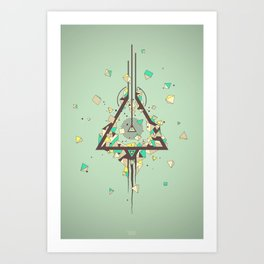 Discovering Higgs Boson Art Print