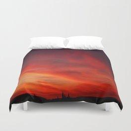 Aurora Sky Duvet Cover