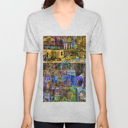 In A Cluttered Hell Unisex V-Neck